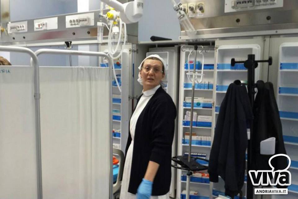 Andria attivo il restyling del pronto soccorso del bonomo for Nuovo arredo andria