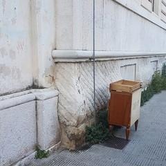 C'è una nuova discarica in città in via Oberdan