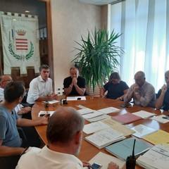 conferenza stampa sindaco di Barletta