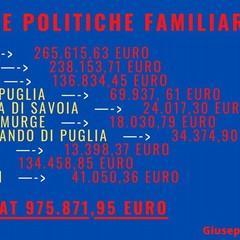 finanziamenti politiche familiari