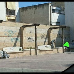 Verso un cambiamento di mentalità: ripulite le panchine di via Manara