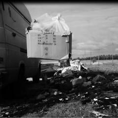 abbandono rifiuti nel parco dell'alta Murgia