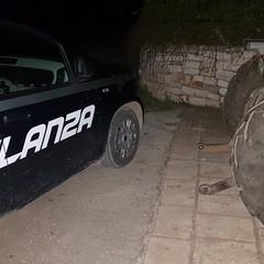 trattore recuperato dalla Vigilanza giurata