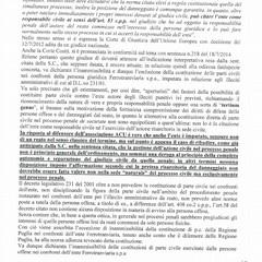 """L'ACU ammessa parte civile nel processo sullo scontro fra treni di """"Ferrovie Bari Nord"""""""
