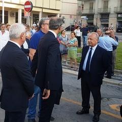 Scoperta  ad Andria una  lapide in memoria delle vittime della strage ferroviaria del 12 luglio 2016