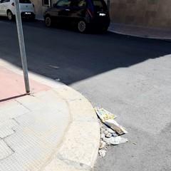 La pulizia delle strade del quartiere Sacro Cuore, affidate alla ...pioggia