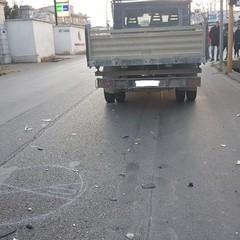 Incidente stradale con feriti su via Trani
