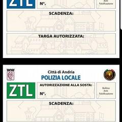 tagliandi della ZTL di Andria