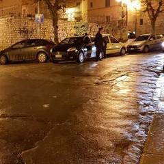 Lancio di petardi contro la Polizia locale