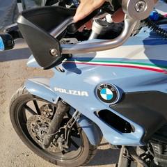 motociclisti Polizia di Stato