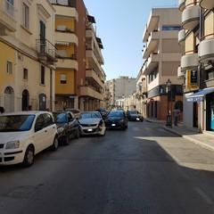 Incidente in pieno centro ad Andria tra via Poli e Salvator Rosa