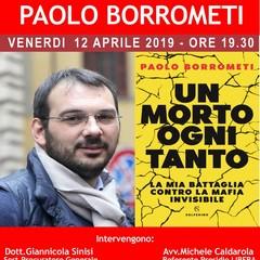 """Paolo Borrometi con il libro """"Un morto ogni tanto"""", squarcia il velo della mafia"""