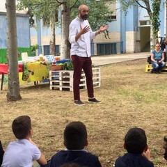 "progetto di outdoor education ""Un'aula a cielo aperto"""