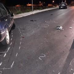 Grave incidente stradale in via Corversano