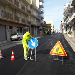 lavori stradali realizzati ad Andria