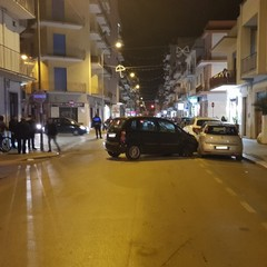 incidente stradale in viale Istria