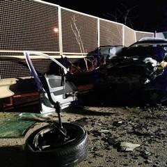 Grave incidente stradale al primo svincolo dell'ex sp 231