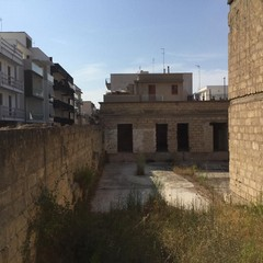 il rudere dell'ex carcere mandamentale di Santa Maria Vetere