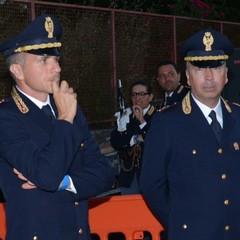 da sx i Dirigenti di P.S. Raffaele Fiantanese e Gerardo Di Nunno