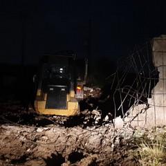 Sventato furto di mezzi pesanti in un cantiere su via Trani
