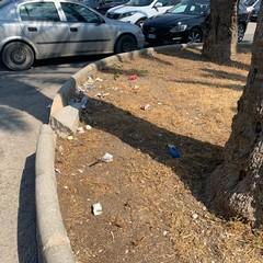 Degrado e sporcizia per piazza San Pio X