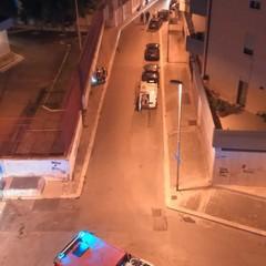 fuga di gas in-via-rovito-nei-pressi-della-chiesa-di-san-giuseppe-artigiano
