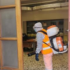 sanificazione degli uffici comunali
