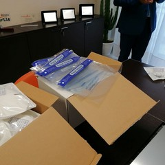 Dispositivi per la protezione personale donati dal Rotary Club Andria