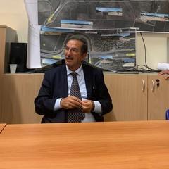 incontro per discutere della realizzazione di una rotatoria al bivio stradale di Montegrosso,