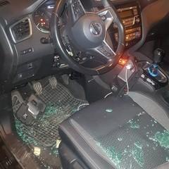 Tentativo di furto di una Nissan Qashqai