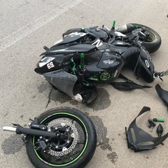 incidente sulla strada tangenziale