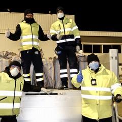 giungono dalla Cina 200 mila maschere chirurgiche