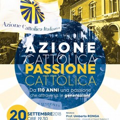 Azione Cattolica Passione Cattolica Manifesto