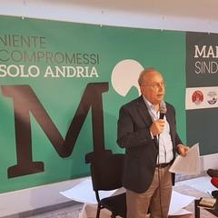 """Marmo candidato sindaco di quattro civiche """"Niente compromessi solo Andria"""""""