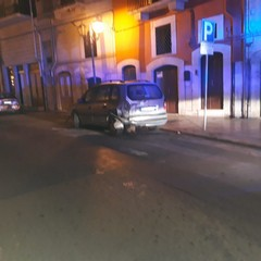 incidente stradale in via Porta Nuova