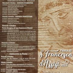 Festa alla chiesa parrocchiale di San Francesco d'Assisi