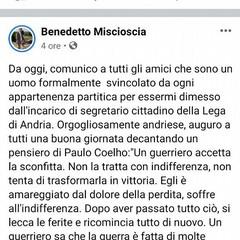 il post di Benedetto MIscioscia