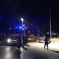 incidente stradale via Castel del Monte