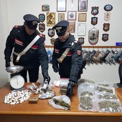 droga sequestrata dai Carabinieri di Andria