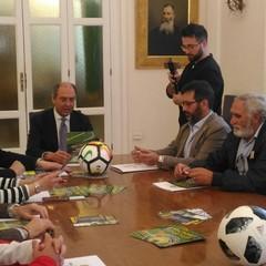 conferenza stampa Torneo di calcio giovanile Castel del Monte