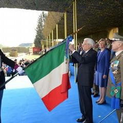 Conferimento Medaglia doro alla Bandiera di Guerra dellEsercito