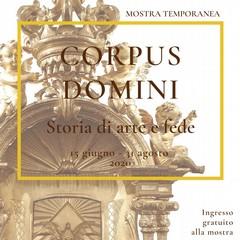 "Locandina ""Corpus Domini, storia di arte e fede"""