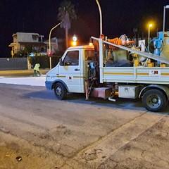Camion perde gasolio dal serbatoio: traffico bloccato in via Padre Leone Dehon