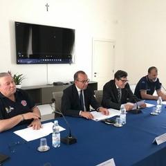 riunione della Protezione civile