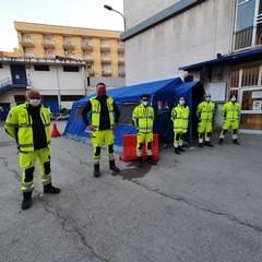volontari dell'Associazione Naturalista Federiciana Verde OdV di Andria