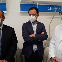 Inaugurazione nuovo reparto all'ospedale di Andria