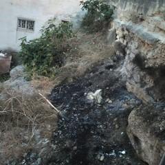 Principio di incendio in via Fornaci