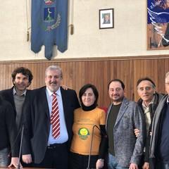 Michele Emiliano al congresso regionale dei Verdi