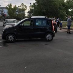Incidente stradale nei pressi dell'hub di San Valentino