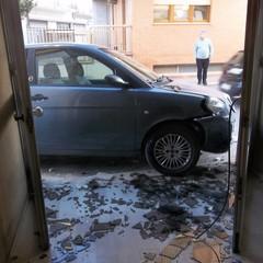 incidente in via Vochieri ad Andria